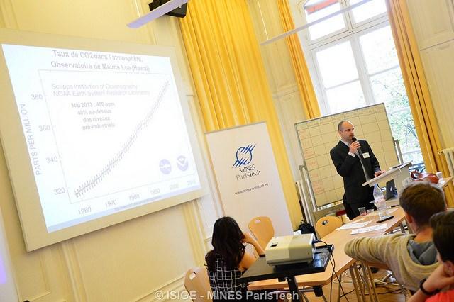 Simulation de négociations climatiques pendant la COP21 – ISIGE – MINES ParisTech