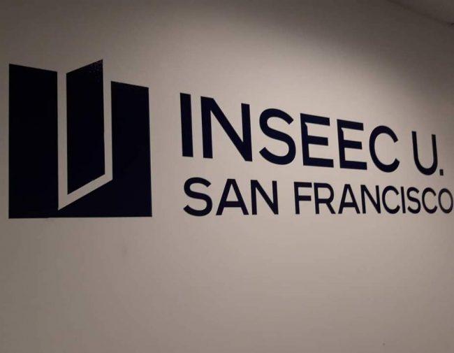 Entrée de l'INSEEC U. San Francisco
