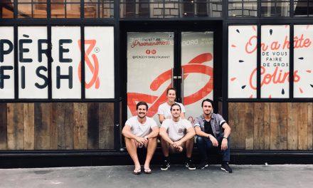 Success story : 4 diplômés de SKEMA remportent la Bourse Badoit et ouvrent leur restaurant « Père & Fish »