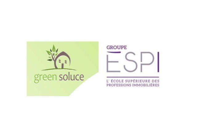 Formation des futurs professionnels de l'immobilier aux enjeux RSE du bâtiment durable de demain :L'ESPI et Green Soluce associent leurs expertises