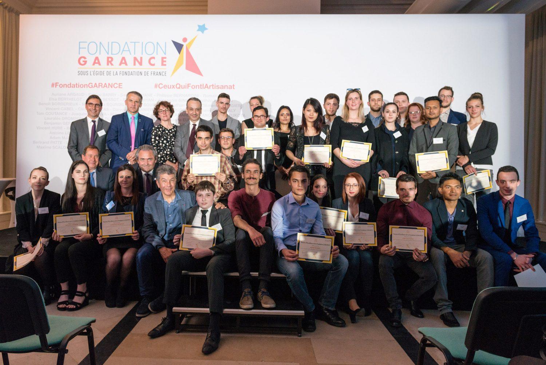 L'ensemble des lauréats des Bourses de la Fondation GARANCE étaient à l'honneur au Musée des arts et métiers à Paris © Arekipa Productions / Nikola Krtolica