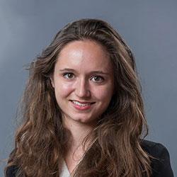 Solène Demay, présidente de l'association étudiante WoMines PSL