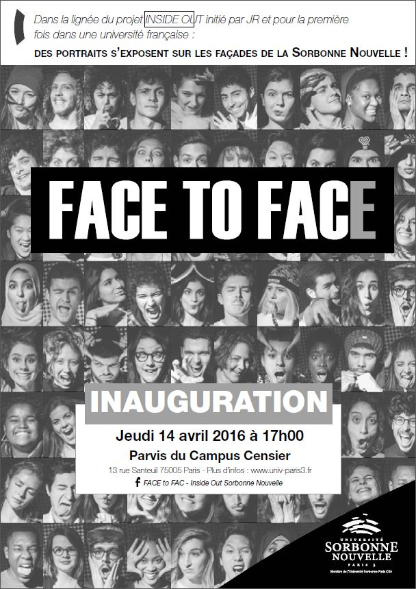 FACE to FAC – Inside Out Sorbonne Nouvelle