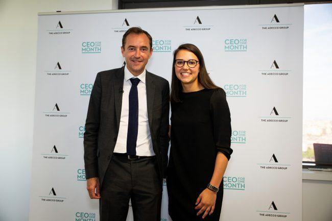 Sarah Palak, sera le CEO d'Adecco France en juin 2018 !