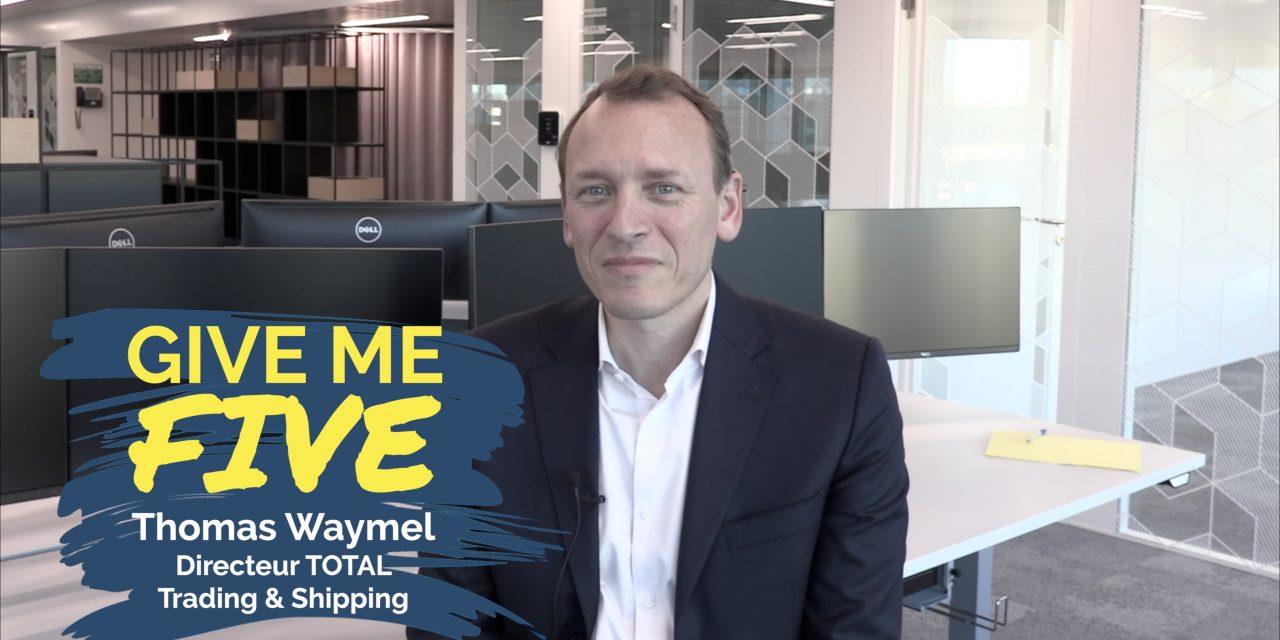 Thomas Waymel – TOTAL Trading & Shipping : «Un expert des flux d'énergie»