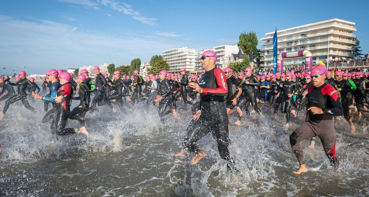 Triathlon Audencia – La Baule , le plus grand triathlon de France au beau fixe !