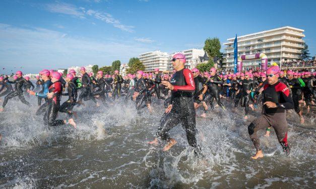 Triathlon Audencia – La Baule , le plus grand triathlon de France au beau fixe !