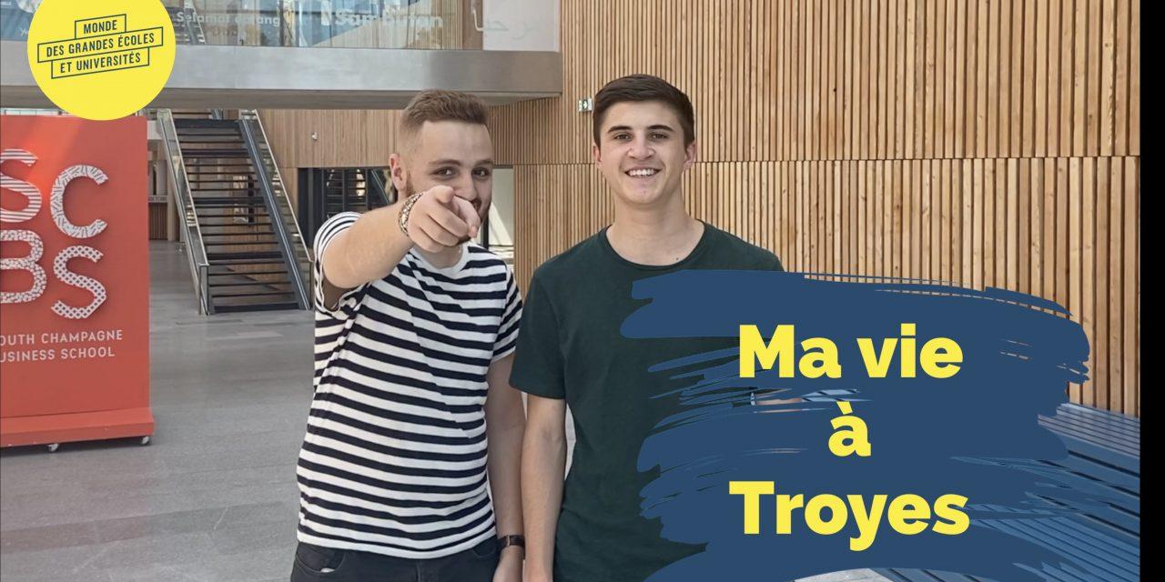Ma vie à Troyes