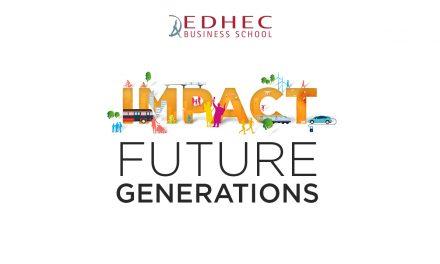 Pour 2025, l'EDHEC s'engage pour les générations futures