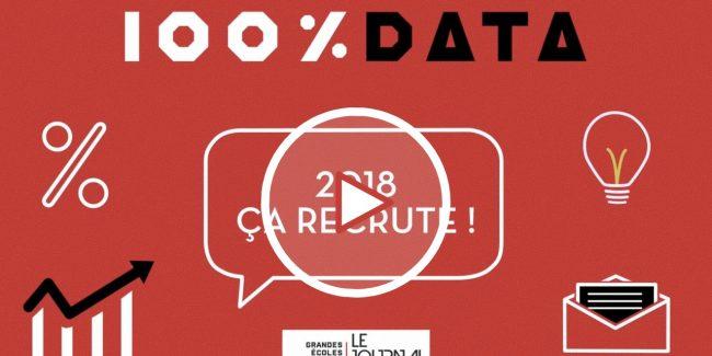 100 % data éco – Épisode 1 – 2018, ça recrute !